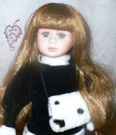 Dalmation danielle doll